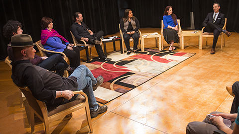 Panel discussion on Latino arts organizations